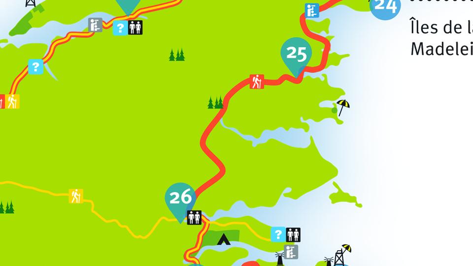 Island Walk Map 25-26