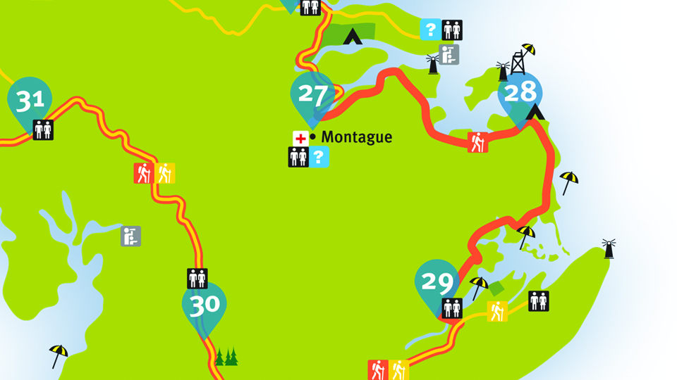 Island Walk Map 28-29