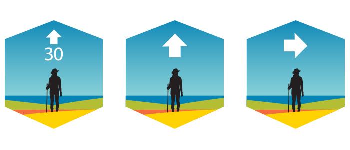 Island Walk signage